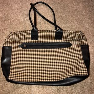 NWOT Longaberger Tote Purse Style Bag!